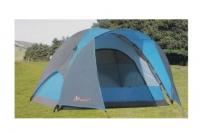 Туристическая палатка 3 местная,двухслойная 220*220*155 Плотный не продуваемый, водонепроницаемый материал 3000 мм осадков.
