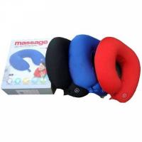 Массажная подушка для шеи с музыкой