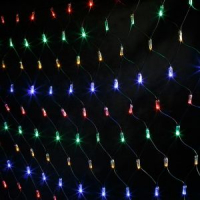 Гирлянда сетка 240 ламп 2.2 м
