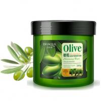 Питательная маска для роста волос с маслом оливы Bioaqua