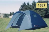 Туристическая палатка 3-х местная, двухслойная Размер : 220+тамбур 90 см*220*155 см