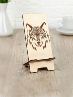 Подставка под телефон «Волк», 7?8?15 см 4162149