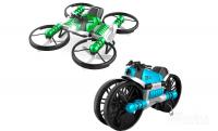Квадрокоптер мотоцикл Мотодрон Leap 2 в 1