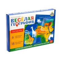 """Настольная игра """"Веселая география""""   4606206"""