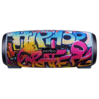Портативная колонка Perfeo HIP HOP 12 Wt 2600mAh MP3,FM,microSD,USB Bluetooth Graffiti