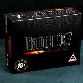 """Настольная игра """"Мафия 007"""" 24,5 x18,5 x 8,5см 1183234"""