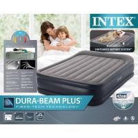 Надувной матрас (кровать) 152х203х42см Intex