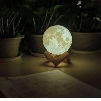 """Лампа-ночник """"Луна мини"""" с тактильным управлением. d8 см"""