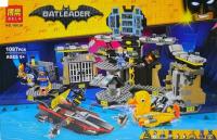 Конструктор 10636 BATLeader 1087 дет. Нападение на Бэтпещеру