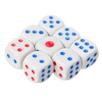 Кубики игральные 8 шт, 11x11мм, пластик 341-049