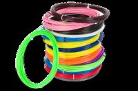 Пластик для 3D ручек  плавление 200-220 градусов  (по 10 м. поштучно)