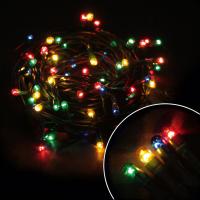 Гирлянда 240 ламп (черные провода)