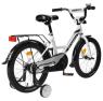 """Велосипед 18"""" Graffiti Classic, цвет белый/черный 4510730"""