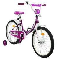 "Велосипед 20"" Graffiti Fashion Girl, цвет бордовый 4510777"