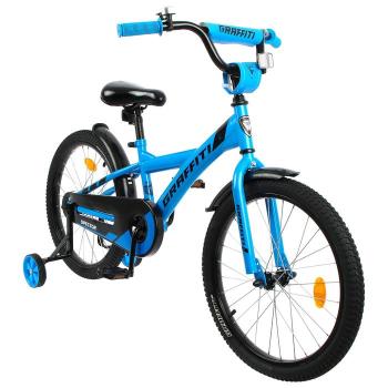"""Велосипед 20"""" Graffiti Spector, цвет неоновый синий   5267493"""