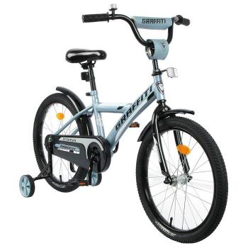 "Велосипед 20"" Graffiti Storman, цвет серый 4510774"