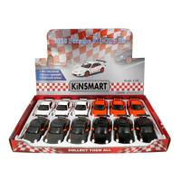 Машина металлическая Porsche 911 GT3 RS, 1:36, открываются двери, инерция, цвет оранжевый