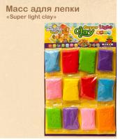 Зефир-пластилин для лепки super light clay