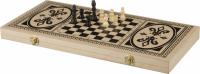 H4824 Набор 3 в 1 (нарды, шахматы, шашки)60*30