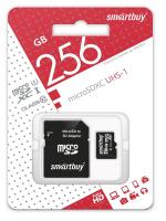 256 Gb microSD Smartbuy Class 10 USH-1 без адаптера