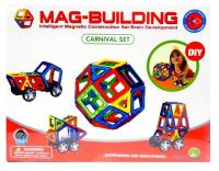 Магнитный конструктор MAG-BUILDING 59дет