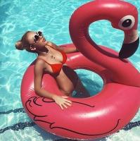 Надувной круг в виде Фламинго