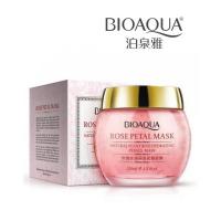 Увлажняющая маска для лица с лепестками розы Bioaqua