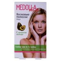Восковые полоски Medolla авокадо 20 шт., зона: бикини, подмышки