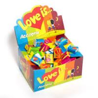 Жевательная резинка LOVE IS (ЛАВ ИЗ) Блок 100шт