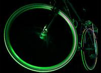 Светящиеся колпачки на колеса (на ниппель, 2 шт.)