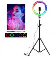 Кольцевая светодиодная цветная лампа MJ33