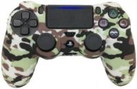 Силиконовый чехол для геймпада PS 4 (принт)