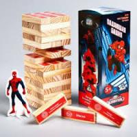 """Падающая башня """"Для настоящих героев"""", Человек паук. 17,7 х 5,3 х 5,3 см 1175667"""