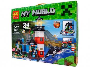33017 конструктор MY WORLD(553)