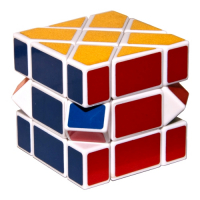 Кубик - 3х3х3 Пластик,  разная форма и расцветка