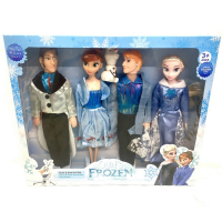 Кукла Холод 4 героя