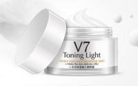 Крем для лица с комплексом витаминов V7, выравнивающий текстуру кожи (белый) Bioaqua