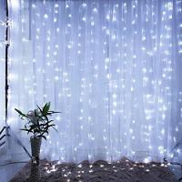 Электрическая гирлянда штора, светодиодная, 2м*3м