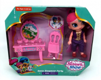 Shimmer and Shine c мебелью