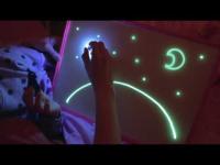 Рисуй светом на волшебном планшете Magic Light Full А4 премиум Пластик толщиной 5 мм. + Подарок чехол