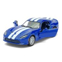 """Машина металлическая """"SRT Viper GTS"""", 1:36, инерция, цвет чёрный   2926598"""