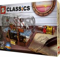 конструктор CLASSICS 1080PCS 1036