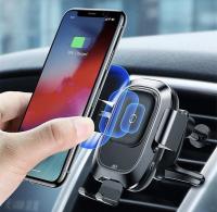 Держатель для телефона Aceshley Luxe с сенсорным датчиком smart sensor CAR WIRELESS CHARGER  s5