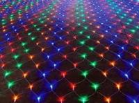 Гирлянда сетка 400 ламп 2,2м