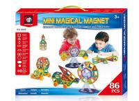 Магнитный конструктор 86 дет Mini Magical Magnet MO86
