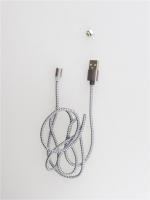 Магнитный кабель Lighting USB X-Cable Metal Magnetic Cable 360