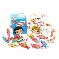 Love is жевательные конфеты Ассорти Chewy Candy (магнитик внутри!)