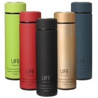Термос с резиновым покрытием «Life»