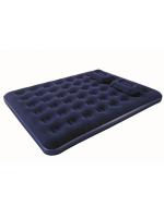 Матрас надувной Queen с ручным насосом + подушки 203 х 152 х 22 см.