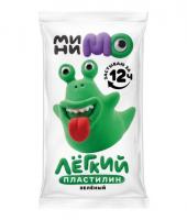 """Легкий пластилин ТМ """"МиниМо"""", зеленый, 20г"""